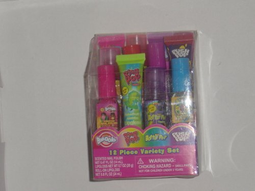 candy-bazooka-ring-pop-baby-bottle-pop-push-pop-12-pc-variety-lip-gloss-nail-polish