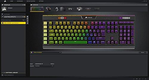CORSAIR K55 RGB Gaming Keyboard - Quiet & Satisfying LED Backlit Keys -  Media Controls - Wrist Rest Included - Onboard Macro Recording (Renewed)