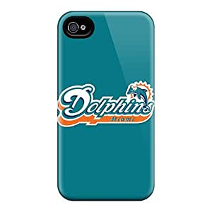 Hot Tpye Miami Dolphins Case Cover For Iphone 4/4s