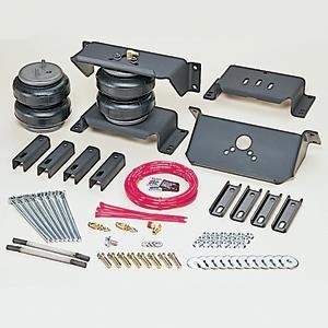 (Firestone Ride-Rite 2355 Ride-Rite; Air Helper Spring Kit; Rear; Incl. Brackets; Air Helper Springs; Hardware; Air Line; And Inflation Valves; No Drilling Required; Number)