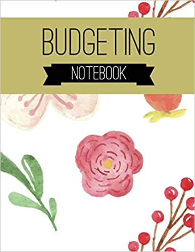 0ac5b37ff223 Budgeting Notebook: Floral Design Budget Planner for your Financial ...