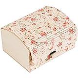 DISOK - Baúl Estampado Floral - Cajas para Detalles de Bodas - Cajitas, Estuches, Cajas Baratas…