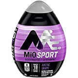 MiO Sport Liquid Water Enhancer - makes 24 servings + Electrolytes, 1.62 oz