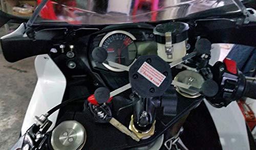 Moto Support de t/él/éphone portable de cadre de navigation de GPS 16-19MM pour GSX-R600//750 06-17 GSX-R1000 03-04 09-16
