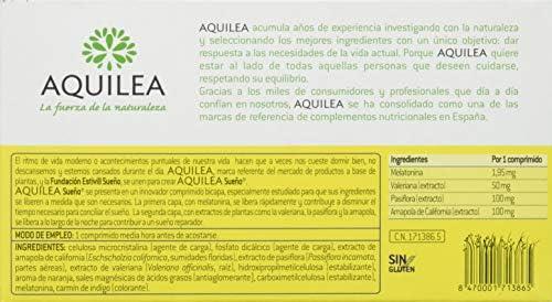 Uriach Aquilea Sueño - 30 Comprimidos: Amazon.es: Salud y cuidado ...