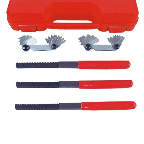 AMPRO T75617 External Thread Restorer File Set, 5-Piece