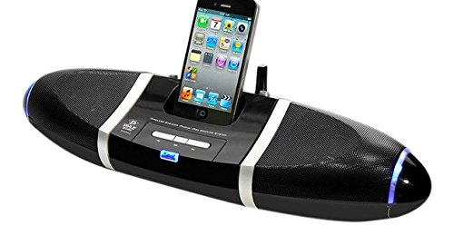 Pyle Home PIWPD3 iPod iPhone4 4S Dock  with wireless Speakers with Aux Input For All Other Mp3 Players  Android Phones / iPhone 5 by Pyle
