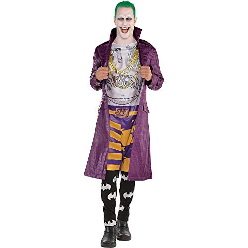 SUIT YOURSELF Psycho Joker Halloween Costume for Adults, Suicide Squad, Standard, Includes Accessories ()