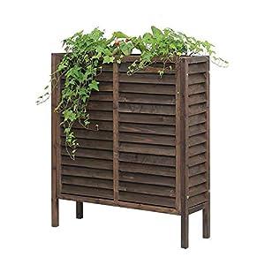 HEMFV Cresciuto in Legno/ha Elevato Garden Bed Planter Box for la Verdura/Fiore/Herb Esterna Giardinaggio Legno Naturale… 4 spesavip