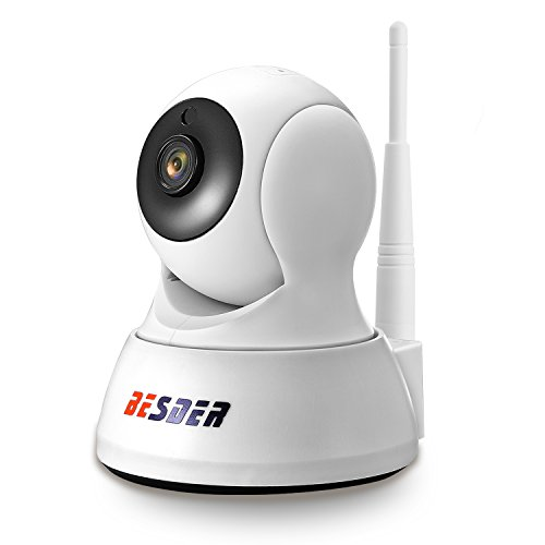 BESDERSEC Wireless IP Camera, WiFi Home Camera HD 720P Home Camera for Baby/Elder/Pet/Nanny Monitor, Pan/Tilt Two Way Audio Night Vision Remote Viewing with Free iOS, Android App 2.4GHz