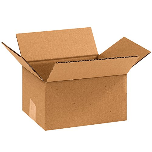 "Partners Brand P975100PK Corrugated Boxes, 9"" L x 7"" W x 5"" H, Kraft (Pack of 100) from Partners Brand"