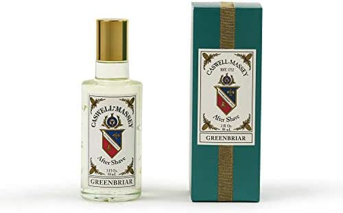 Caswell-Massey Greenbriar Cologne Spray – Natural Blend of Sage, Patchouli, Mandarin and Vetiver – 3 Ounces