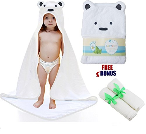 hooded toddler towel - 3