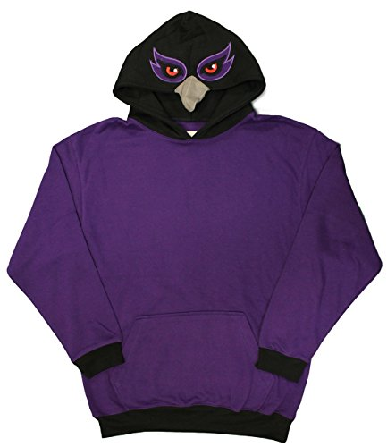 - Baltimore, Maryland Purple Friday Raven Face Men's Costume Hoodie (xx-large)
