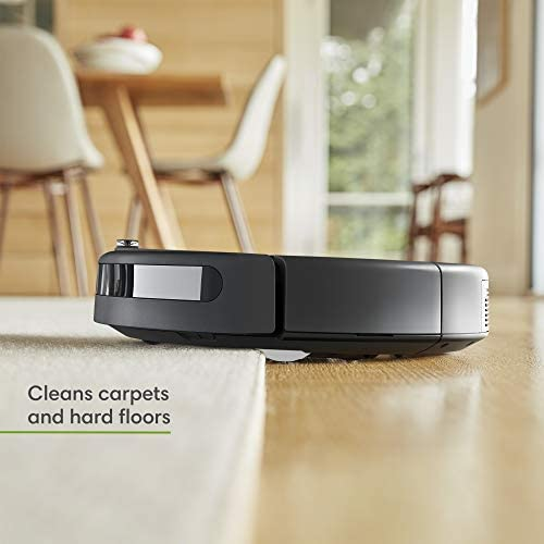 iRobot Roomba 692 Robot Vacuum-Wi-Fi Connectivity, Works with Alexa, Good for Pet Hair, Carpets, Hard Floors, Self-Charging, Charcoal Grey