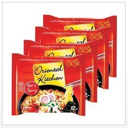 Price comparison product image 4x Mama Oriental Kitchen Hot & Spicy 80 G Cheap Price From Thailand