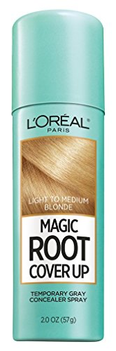 LOreal Paris Root Cover Up Temporary Gray Concealer Spray, Light to Medium Blonde 2 oz (Pack of 3)