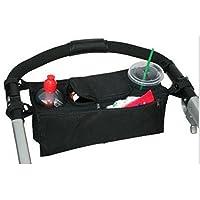 Pram Pushchair Stroller Buggy Cup Bottle Drink Food Holder Storage Bag Organi...