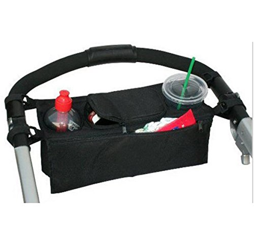 Cup Bottle Drink Food Holder Storage Bag Organizer for Pram Pushchair Stroller Buggy Groupcow