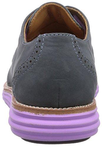 lavendel Zapatos Azul Brogue Ii Mujer Chung Cordones De azul Para Sensomo Schnã¼rschuh Shi Damen XqwxO6af