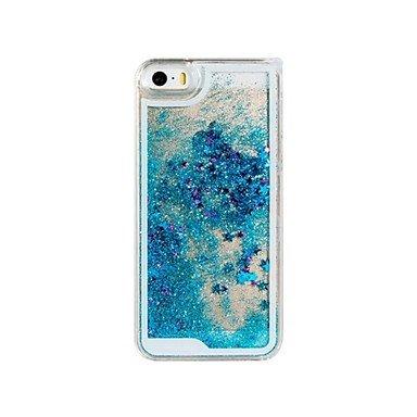 Fundas y estuches para teléfonos móviles, La novedad creativa centelleantes estrellas y Drift Sand caja de la PC material duro para el iPhone 5/5S (colores surtidos) ( Color : Rosado ) Rosado