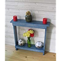 Narrow console Table Rustic accent table small Entryway Hallway Table Hall Rustic Farmhouse Table Skinny Table