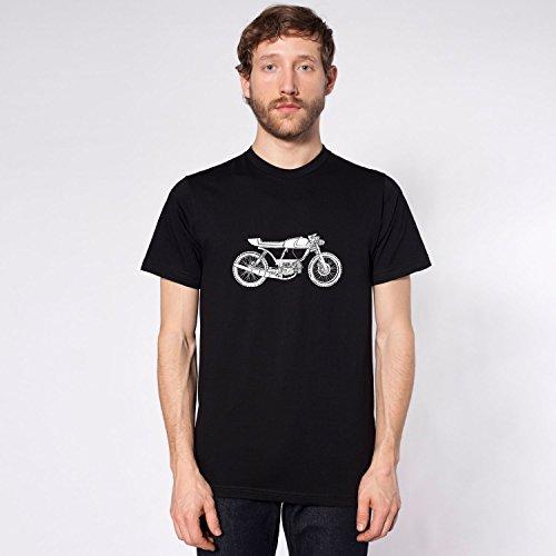 KillerBeeMoto: Rogue Builds Moped Cafe Racer Short Sleeve T-Shirt