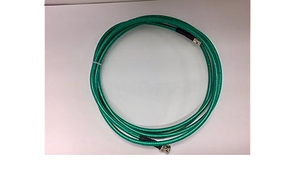 Certicable 200/' Ft HD-SDI 3G-SDI RG6 Coax BNC Male High Definition Video Green