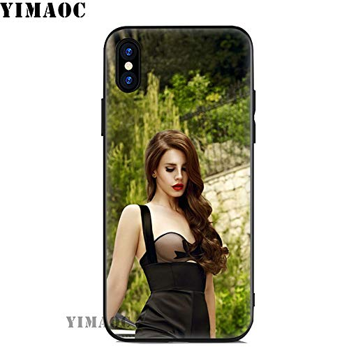 Inspired by Lana Del Rey Phone Case Compatible With Iphone 7 XR 6s Plus 6 X 8 9 Cases XS Max Clear Iphones Cases TPU- Remix- Bag- - Sadness- Sadness- 32972031137