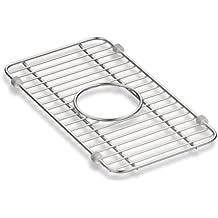 Kohler Iron/Tones Smart Divide Stainless Steel Small Sink Rack