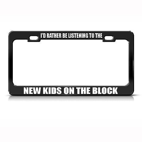 I Love Music License Plate Frame Tag Holder