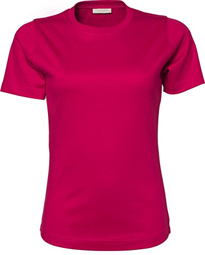 Ladies Interlock – Camiseta Rosa
