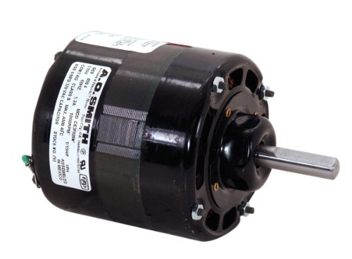 AO Smith 793 4.4-Inch 1/15 Hp, 115 Volts, 1060 RPM, Open ...