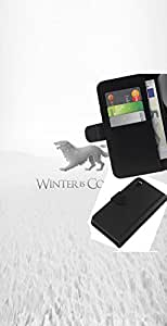 Leather Etui en cuir || Sony Xperia Z3 D6603 || Winter Is Coming Stark @XPTECH