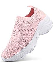 Sportschoenen voor dames, hardloopschoenen, fitness, sport, ademend, wandelen, gebreid, comfortabel, sneakers, outdoor
