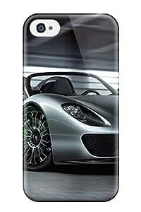 Unique Design Iphone 4/4s Durable Tpu Case Cover 2011 Porsche 918 Spyder 2037848K22907749 WANGJING JINDA