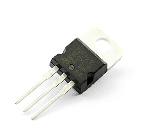 Exiron 10pcs TIP122 NPN Transistor Complementary 100V 5A NEW