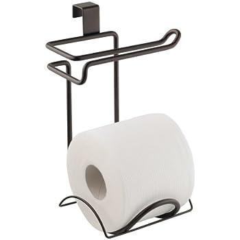 InterDesign Classico Bathroom Over Tank Toilet Paper Holder   Double Roll  Tissue Paper Storage   Bronze. Amazon com  InterDesign Classico Bathroom Over Tank Toilet Paper