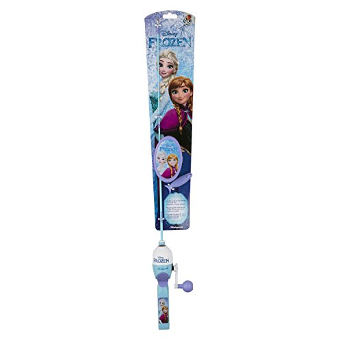 Shakespeare 1465827 Youth Fishing Kits, Disney Frozen with Tackle -