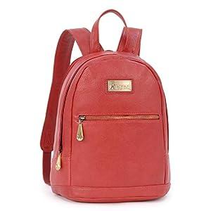 Catwalk Collection Handbags – Vintage Cuir Véritable – Sac à dos Femme – Compatible avec iPad/Tablettes/Kindle – Femme…