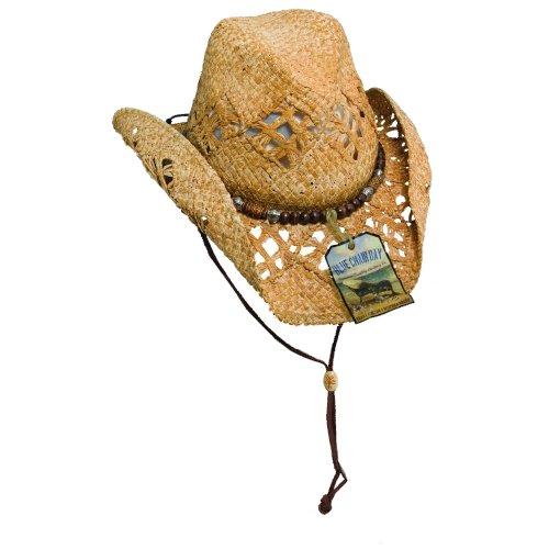 new blue chair bay kenny chesney raffia straw breezer cowboy hat 02f23cec9182