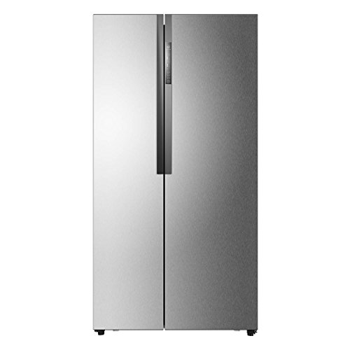 Haier HRF 618 SS Frost-free Side-by-Side Inverter Refrigerator (565 Ltrs, Stainless Steel)