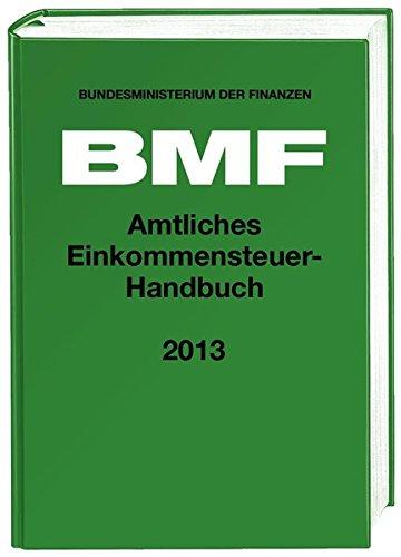 Amtliches Einkommensteuer-Handbuch 2013