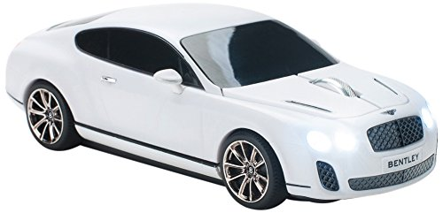 Click Car CCS-BENTLEY-WHITE Bentley Continental Supersports 4GB USB 2.0 Stick, White