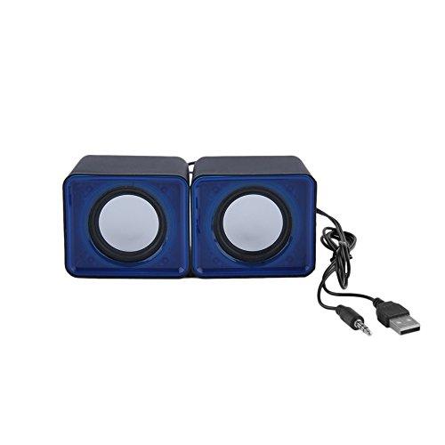 Portable USB 2.0 Multimé dia Ordinateur de Bureau Ordinateur Portable Mini Haut-Parleur Musique Sté ré o Home Ciné ma Party Haut-Parleur 3.5mm Jack Formulaone ONE10239