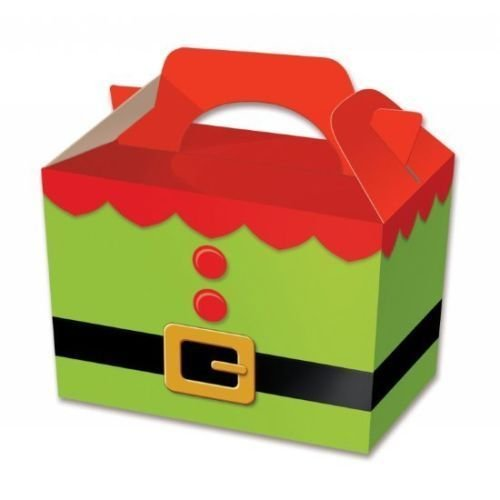 VIP Elf Christmas Lunch Treat Boxes x10 PACK xmas eve party box