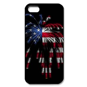 American Flag Firework theme for iPhone 5/5s hard back case by icecream design