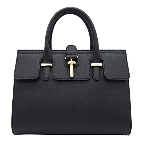 sac à dames de bandoulière à main Sac à bandoulière simple mode Black sac carré wT0nIYq4