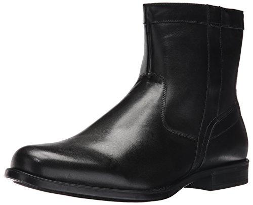 Leather Black Boot Dress (Florsheim Men's Medfield Plain Toe Zip Boot Fashion, Black, 11 D US)