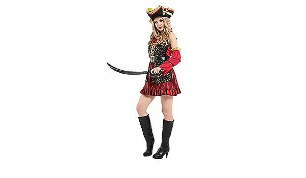 GW Disfraz de Piratas del Caribe de Halloween, Disfraz de Pirata ...
